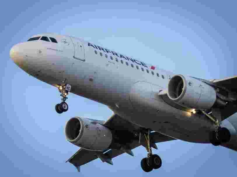 Air France va bénéficier d'une nouvelle aide de 4 Mds€