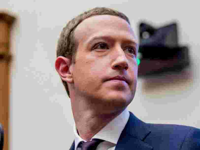 Le numéro de téléphone de Mark Zuckerberg fait partie des données personnelles volées sur Facebook