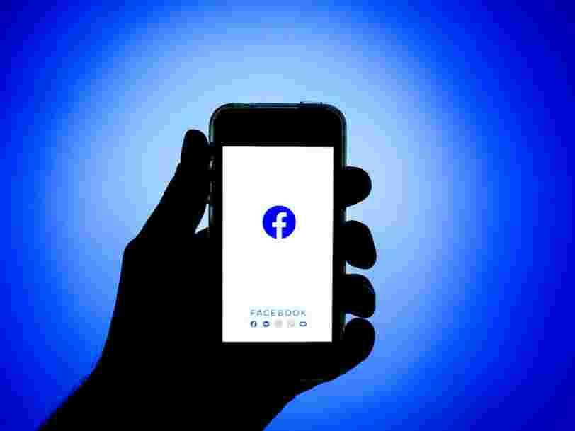 Facebook dénonce des 'acteurs malveillants' et rappelle que les données volées datent de 2019