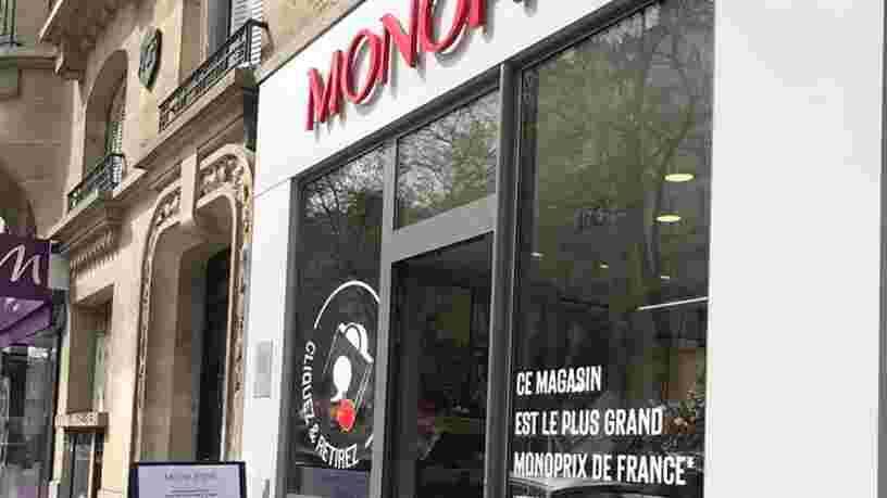 Monoprix ouvre son premier drive piéton à Paris, découvrez-le en images