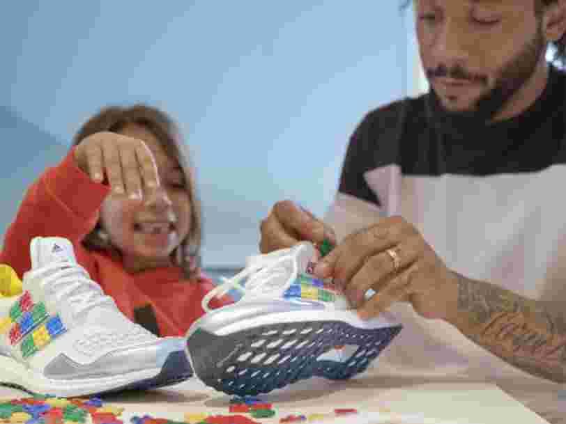 Adidas lance des baskets personnalisables avec des LEGO