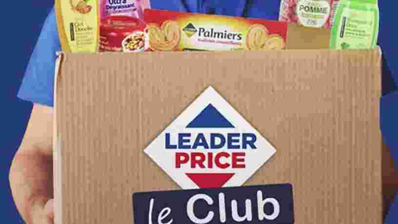 Vous pouvez maintenant commander par abonnement des produits Leader Price