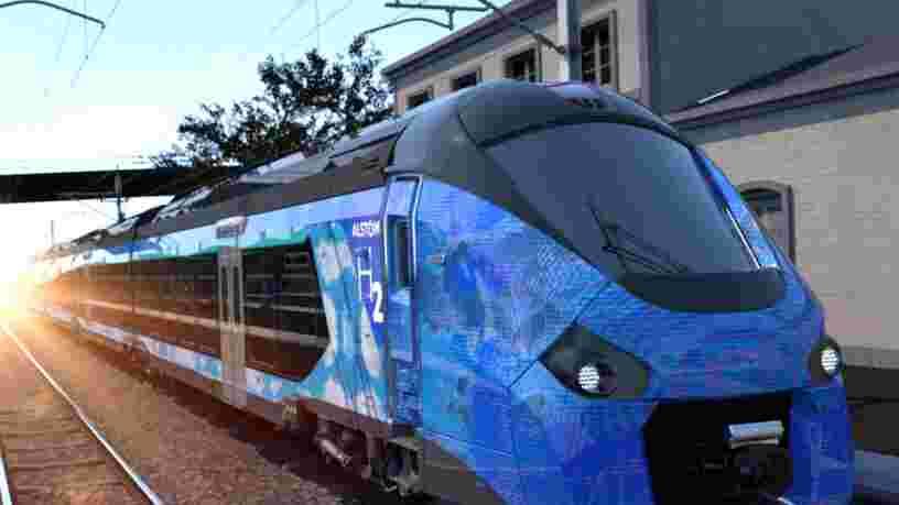Quatre régions ont commandé à Alstom les premiers trains à hydrogène français