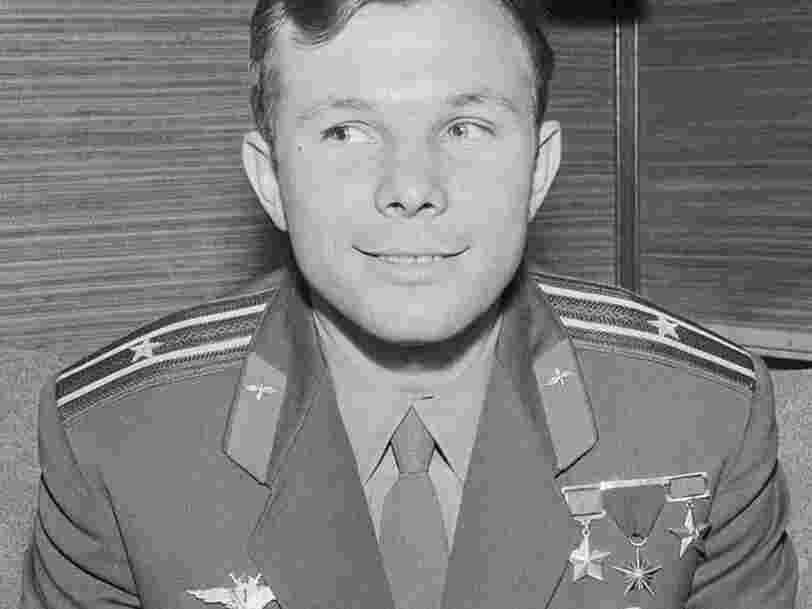 Il y a 60 ans, Iouri Gagarine réalisait le premier vol dans l'espace