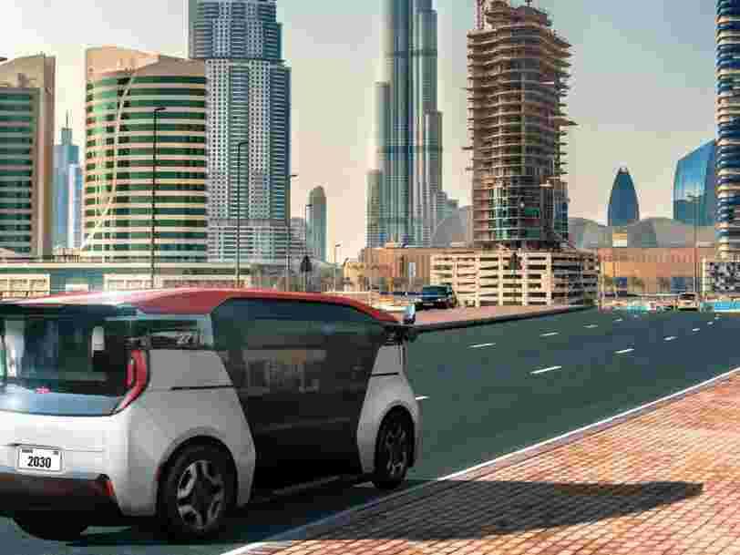 Dubaï accueillera une flotte de taxis autonomes dès 2023