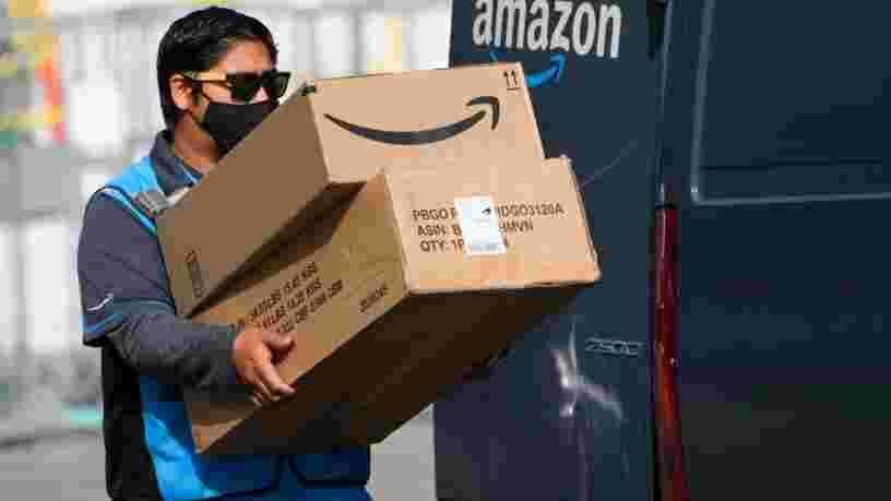 Des chauffeurs Amazon décrivent la pression permanente qu'ils ressentent à travailler sous le regard des caméras embarquées