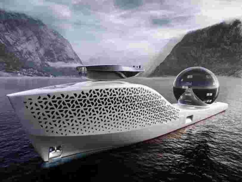 Un superyacht destiné à étudier le changement climatique propose des billets à 3M$