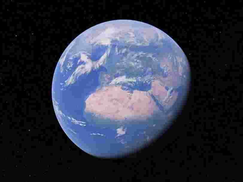 Google Earth permet de remonter le temps avec une nouvelle fonction Timelapse