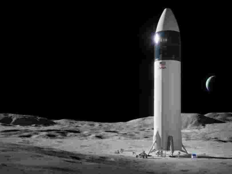 La décision de la NASA de choisir SpaceX pour retourner sur la Lune fait polémique
