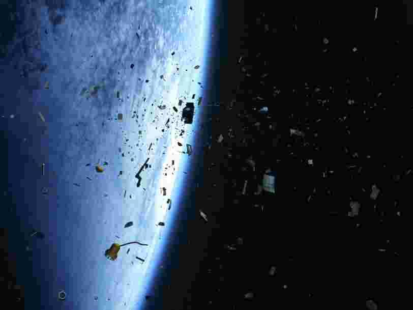 Des millions de débris spatiaux s'accumulent en orbite, ils pourraient devenir dangereux