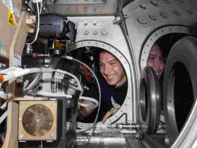 Les expériences sur l'ISS préparent à des missions vers la Lune et au-delà