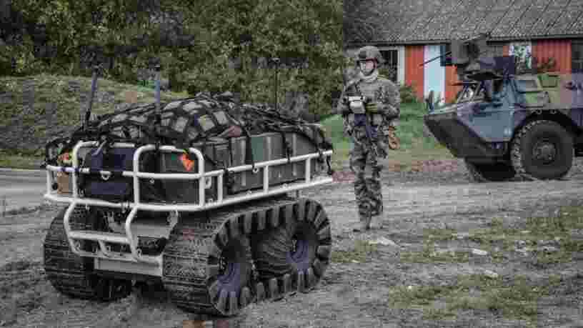 Au Mali, l'armée française déploie ses premiers 'robots-mules' en opération extérieure