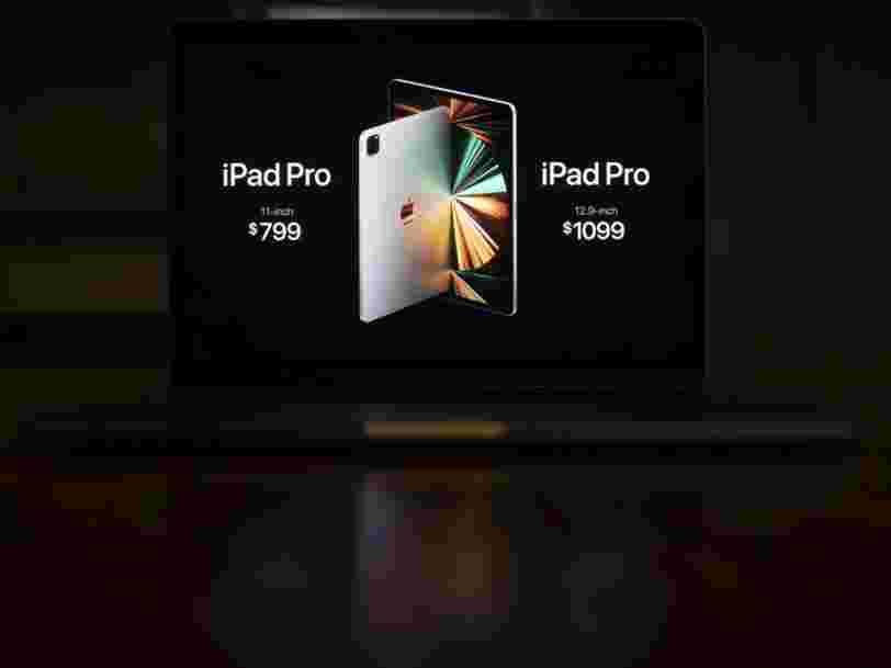 iPad Pro, iMac, AirTags... Apple a présenté ses nouveaux produits lors de sa keynote de printemps