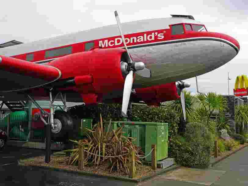Voici les restaurants McDonald's les plus insolites du monde