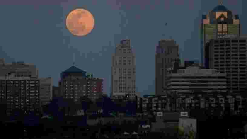 Voici comment repérer la première super Lune de l'année qui se lèvera dans la nuit de lundi