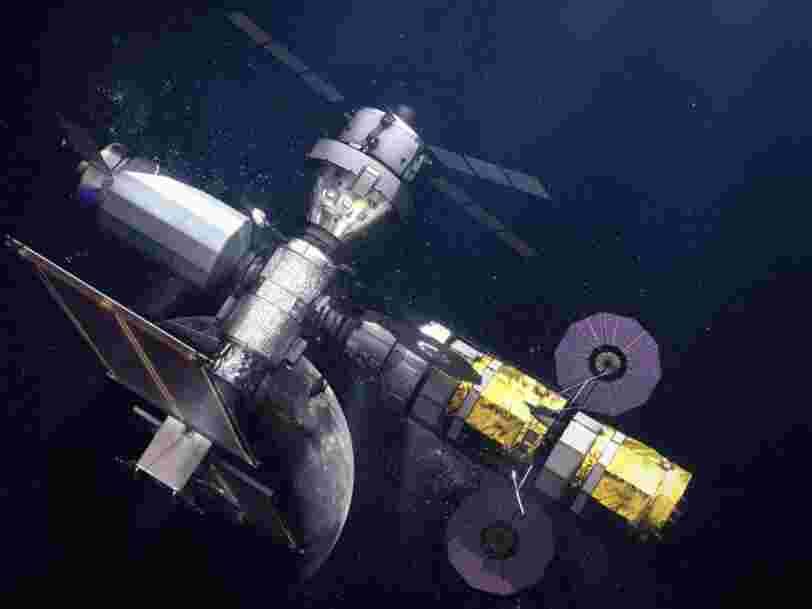 Blue Origin porte plainte après avoir été écarté du programme de la Nasa pour retourner sur la Lune