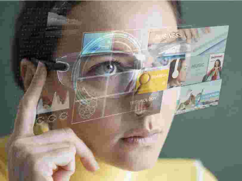 Les lunettes de réalité augmentée Apple Glass pourraient transformer n'importe quelle surface en écran tactile