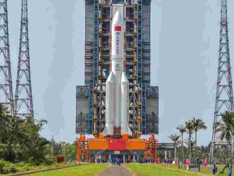 La Chine a lancé la première pièce de sa future station spatiale