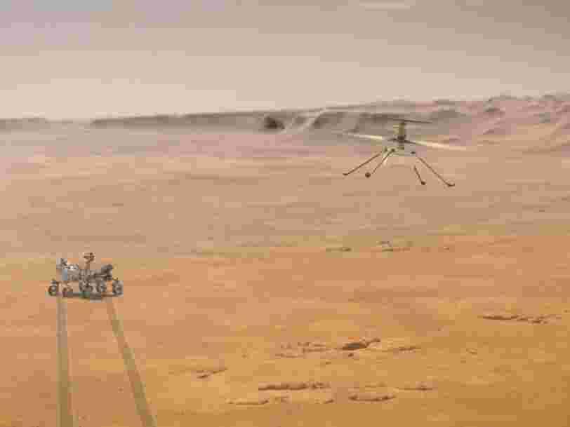 L'hélicoptère de la NASA Ingenuity n'a pas pu effectuer son quatrième vol sur Mars