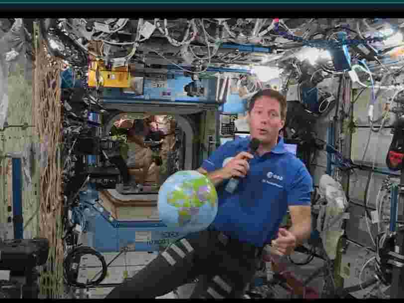 Ce qu'il faut retenir des premiers jours de Thomas Pesquet à bord de l'ISS