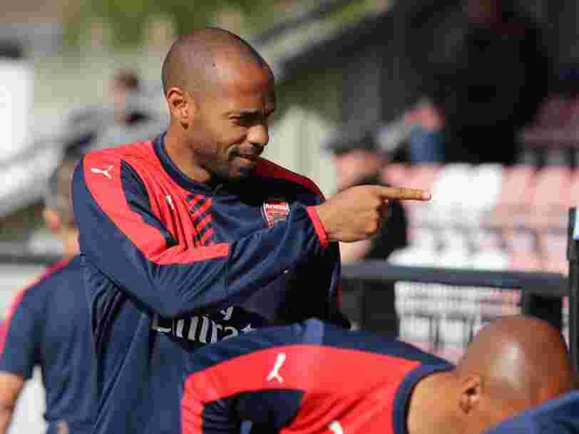 Thierry Henry s'associe au projet de rachat d'Arsenal par le patron de Spotify