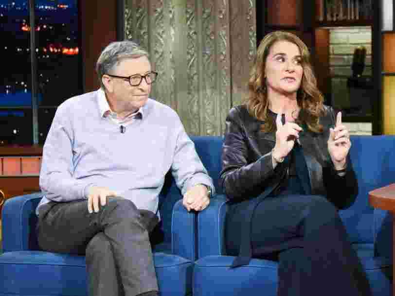 Bill et Melinda Gates n'ont pas de contrat de mariage et diviseront leurs 125 Mds€ selon un accord de séparation