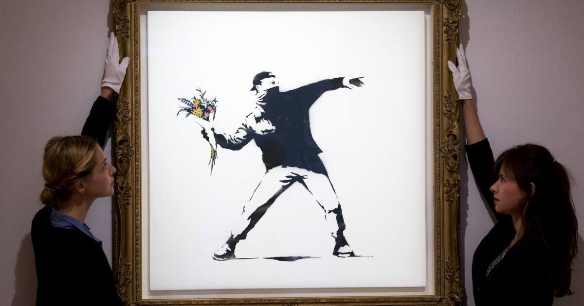 Sotheby's va accepter le bitcoin et l'ether pour la vente d'une oeuvre de Banksy, une première