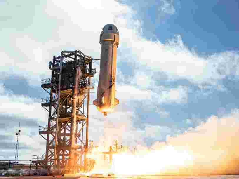 Blue Origin met en vente ses billets pour l'espace, l'un des sièges sera vendu aux enchères
