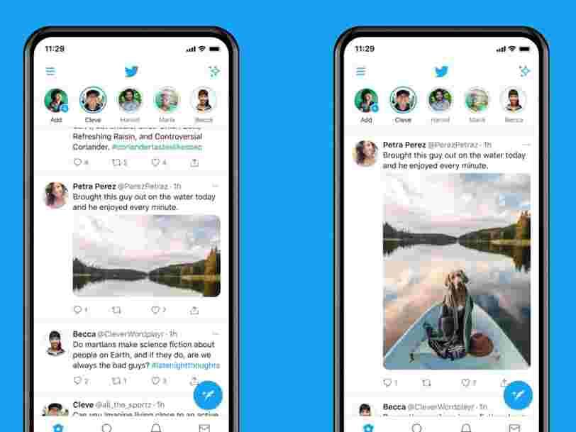 L'application Twitter offre désormais un aperçu plus grand des images sur iOS et Android