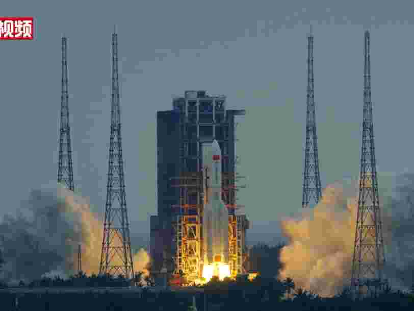 Trois astronautes ont décollé vers la station spatiale chinoise