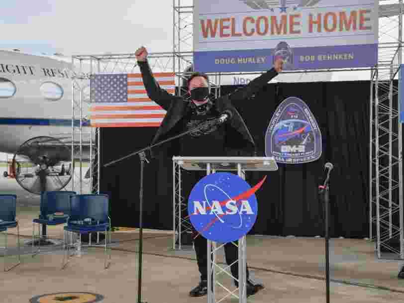 SpaceX va lancer un satellite lunaire payé en Dogecoin