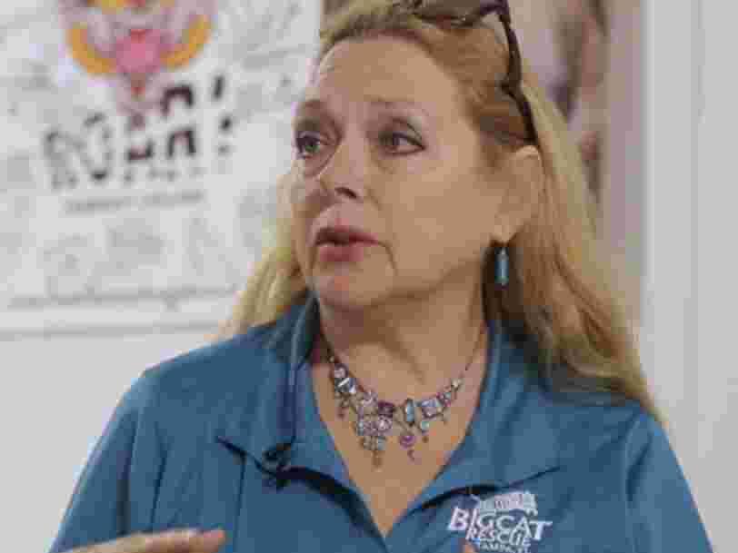 Carole Baskin, star de la minisérie Netflix 'Tiger King', lance sa propre cryptomonnaie