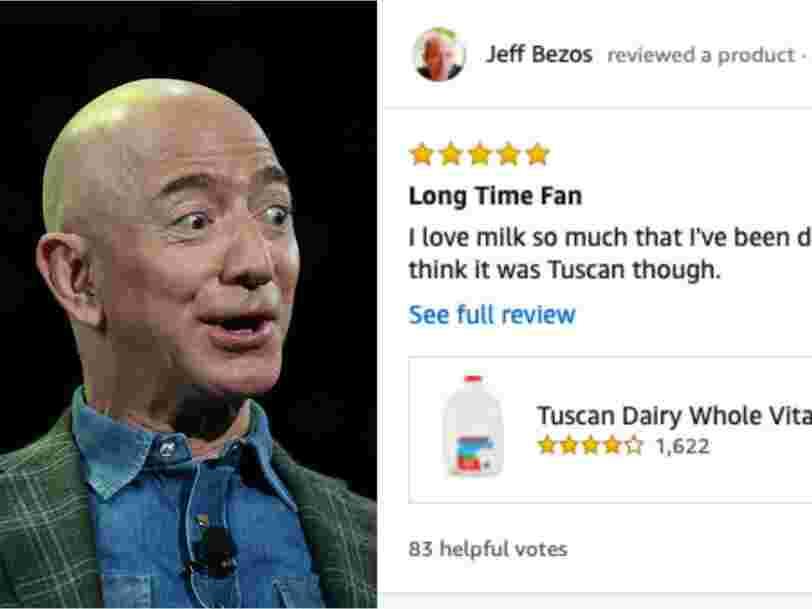 Jeff Bezos a écrit des critiques amusantes sur Amazon avant de devenir milliardaire, les voici