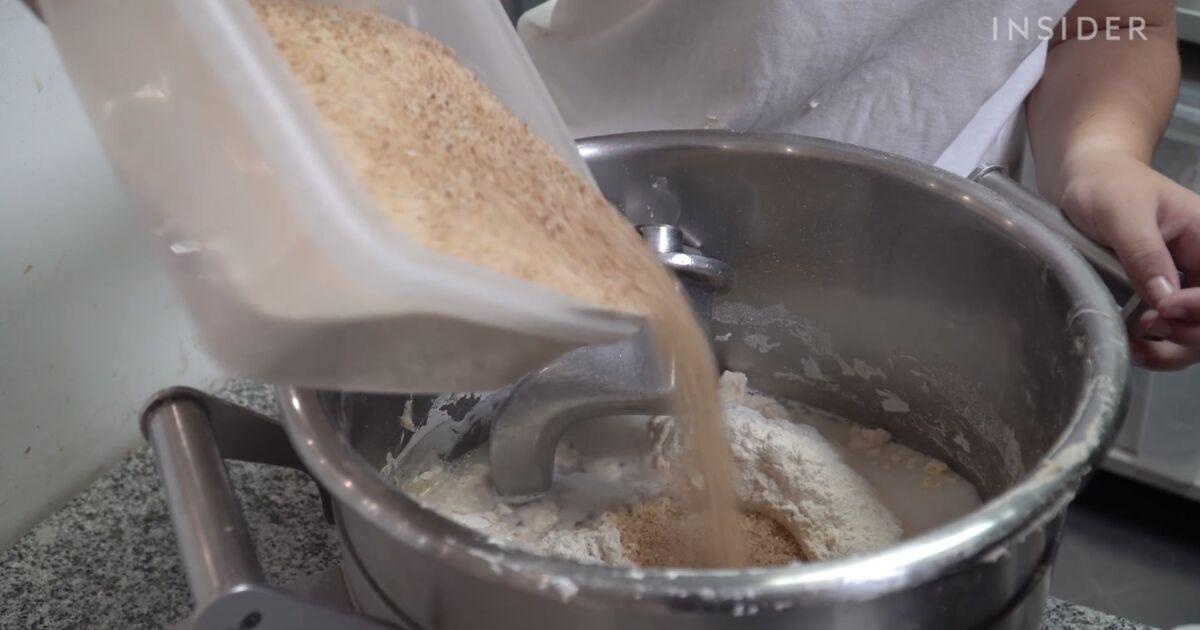 Cette drôle de machine recycle les baguettes de pain