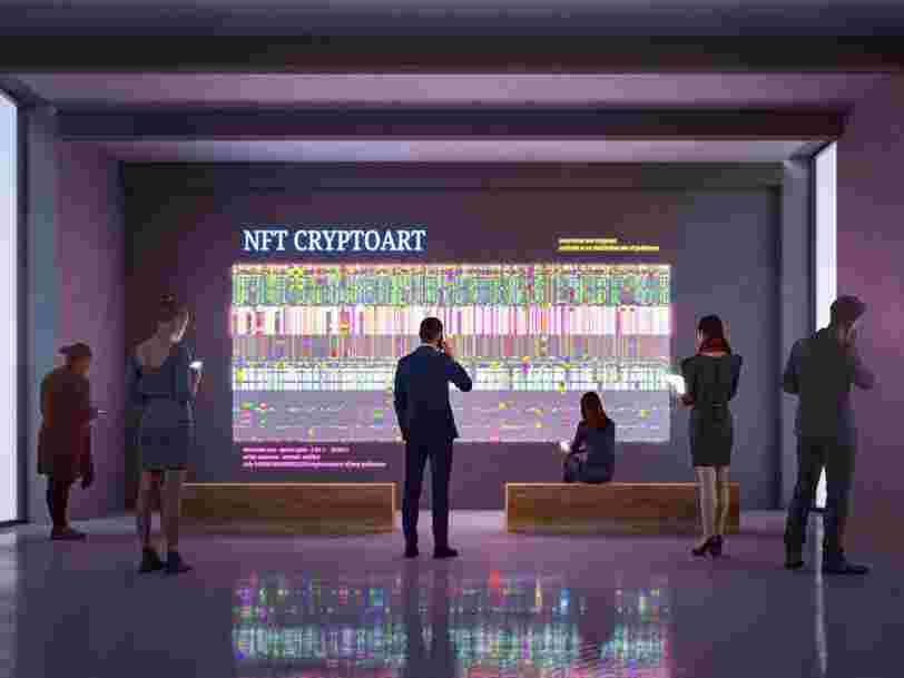 Un lot de personnages numériques labélisés 'NFT' a été vendu 16,9 M$