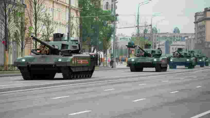 "La Russie va équiper ses véhicules de combat d'un revêtement ""caméléon"""