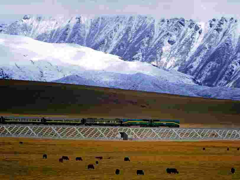 Voici les lignes de train les plus longues du monde
