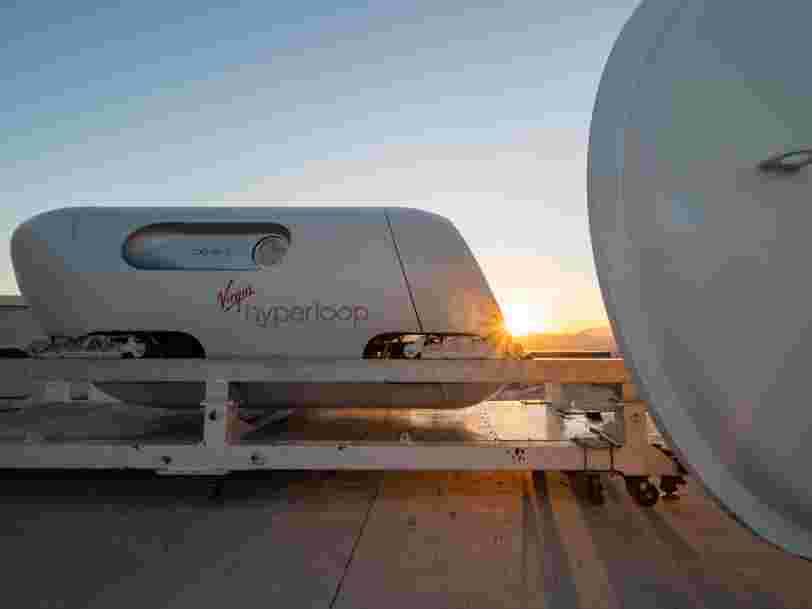 L'Hyperloop doit encore relever de nombreux défis, selon une étude