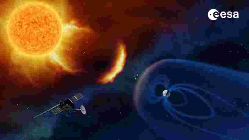 L'ESA organise un concours pour baptiser son futur satellite de météo spatiale