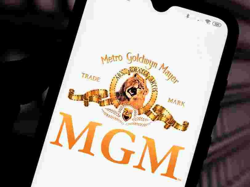 Amazon négocie pour racheter le studio MGM pour 7,4 Mds€