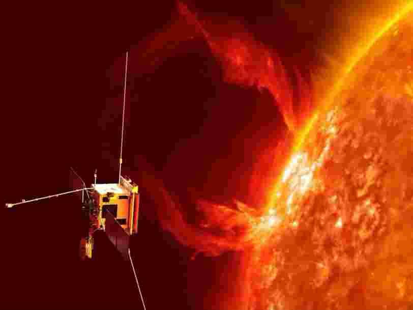 Une éruption solaire été observée pour la première fois par un satellite
