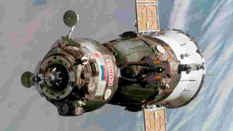 L'agence spatiale russe va vendre une capsule Soyouz