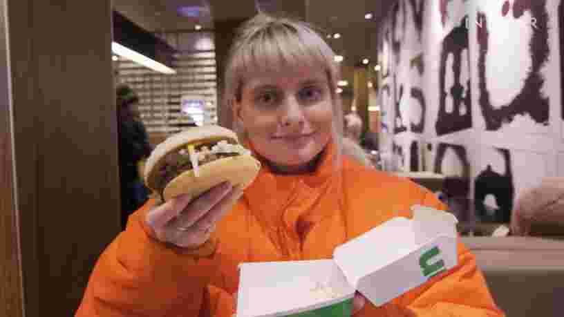 On a testé les burgers et les frites vegan de McDonald's en Suède