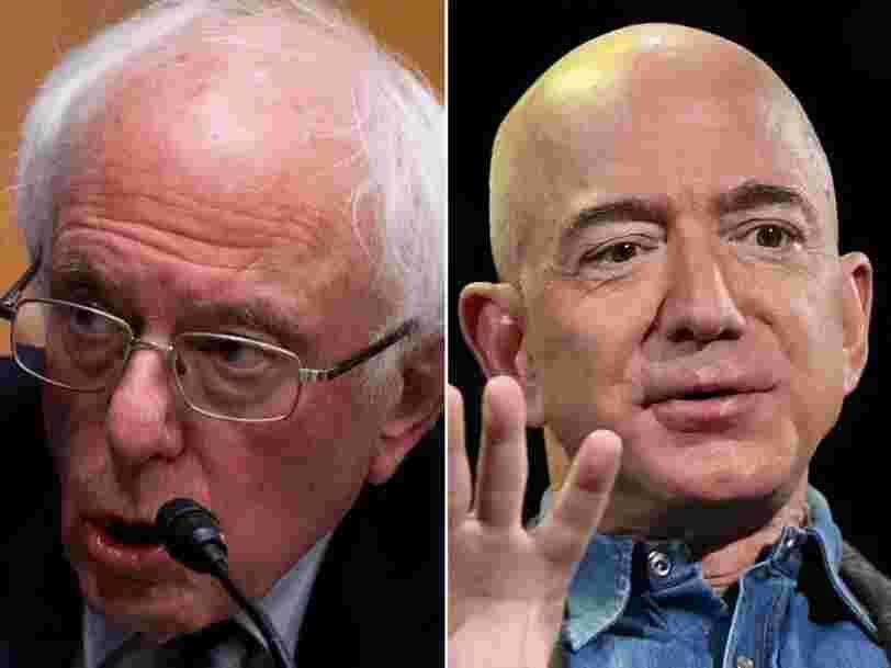 Comment Bernie Sanders tente d'empêcher Blue Origin d'obtenir un financement de la NASA