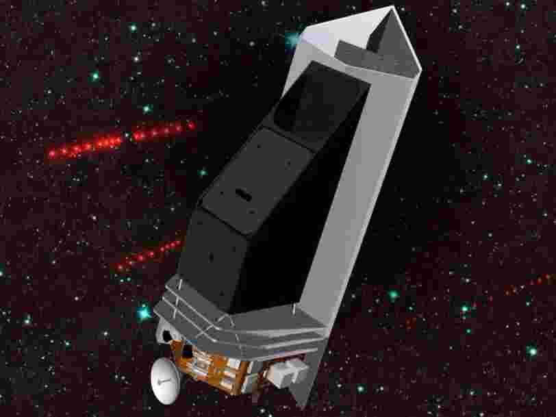 La NASA travaille sur un projet de télescope spatial 'chasseur d'astéroïdes'