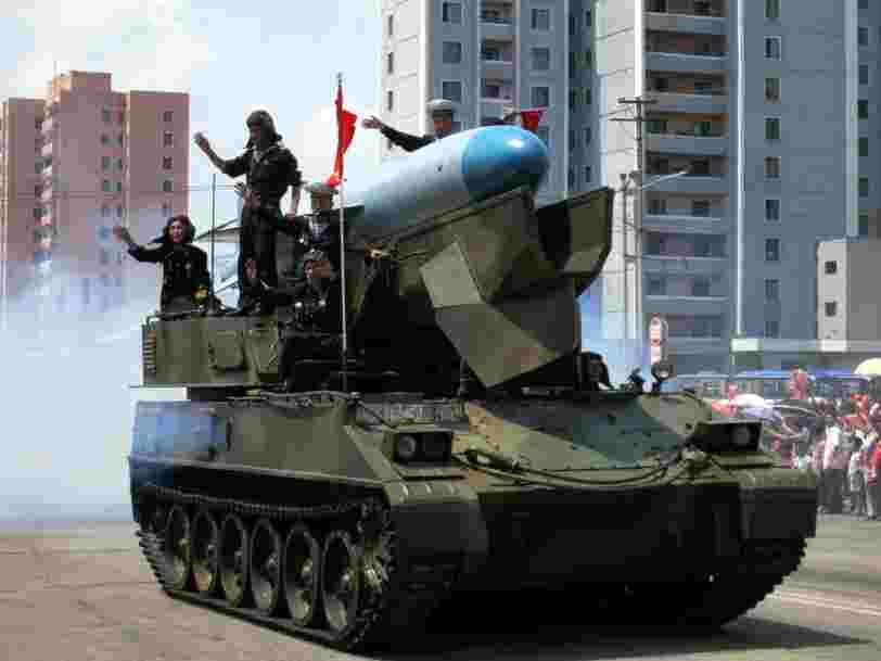 Voici la liste des pays touchés par un embargo sur les armes