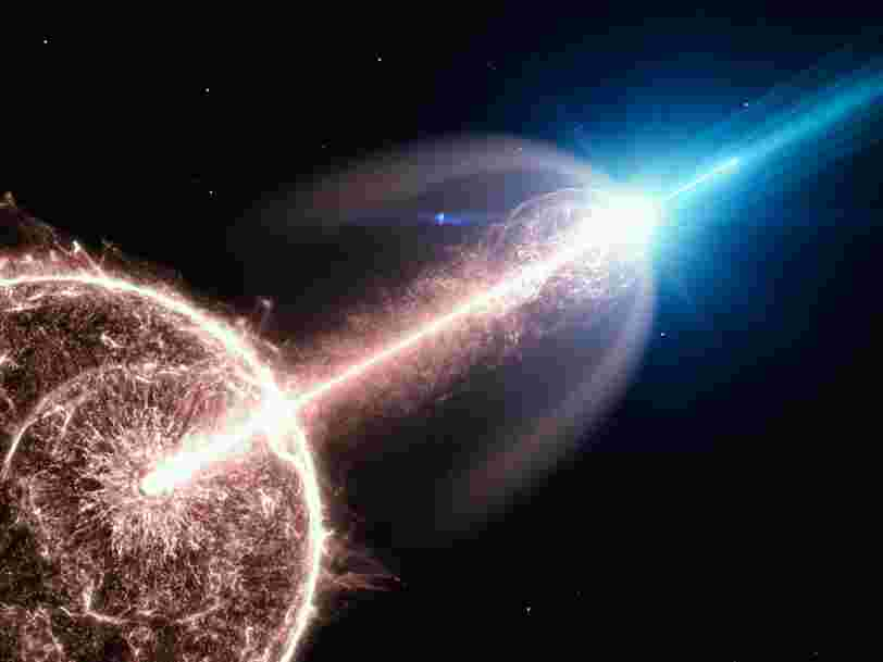 Une explosion cosmique 'exceptionnelle' révèle ses premiers secrets