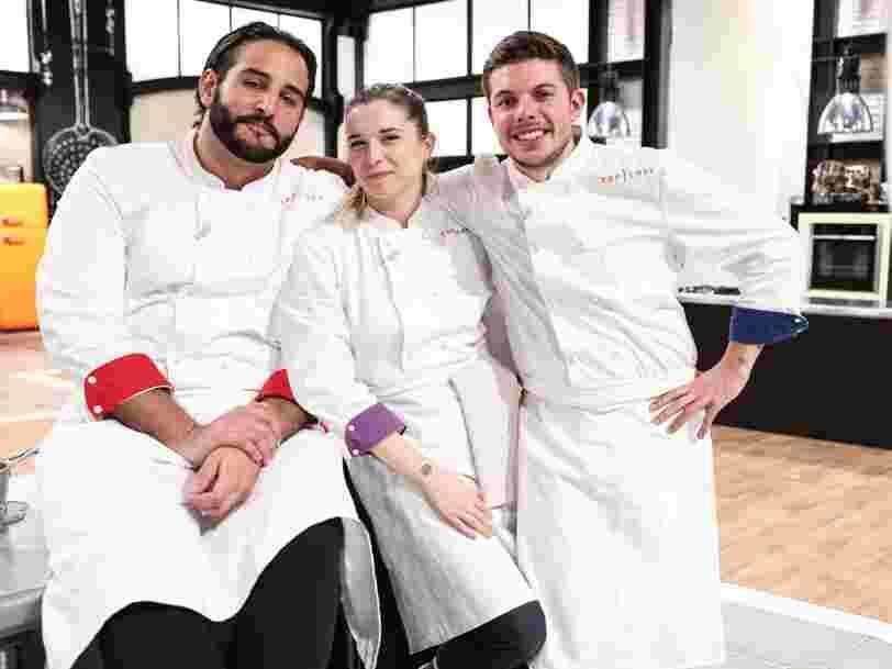Finale de 'Top Chef' : pour combien mange-t-on chez Sarah, Mohamed et Matthias ?