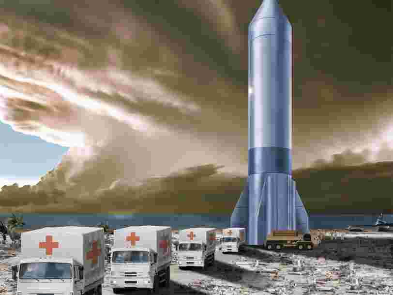 L'US Air Force veut déployer des fusées cargo sur n'importe quel point du globe en moins d'une heure