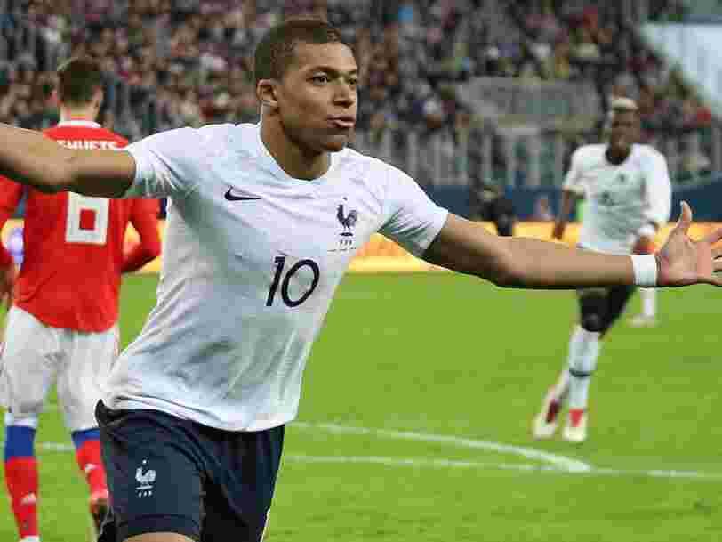 Football : voici la part des joueurs de l'équipe de France évoluant en Ligue 1